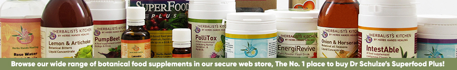 browse our complete range of products, including Dr Schulze's Superfood Plus, in our online store